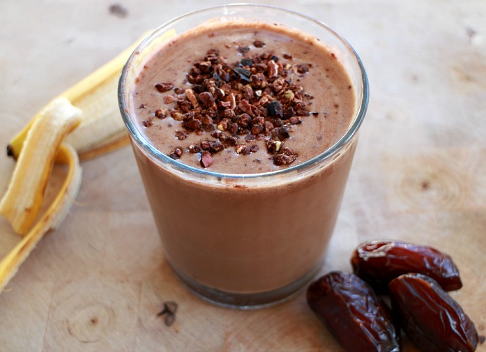 smoothie chocolate coffee